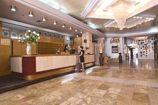 לובי מלון גליל נתניה