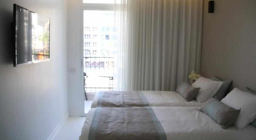 חדר נוף לעיר מלון הכיכר