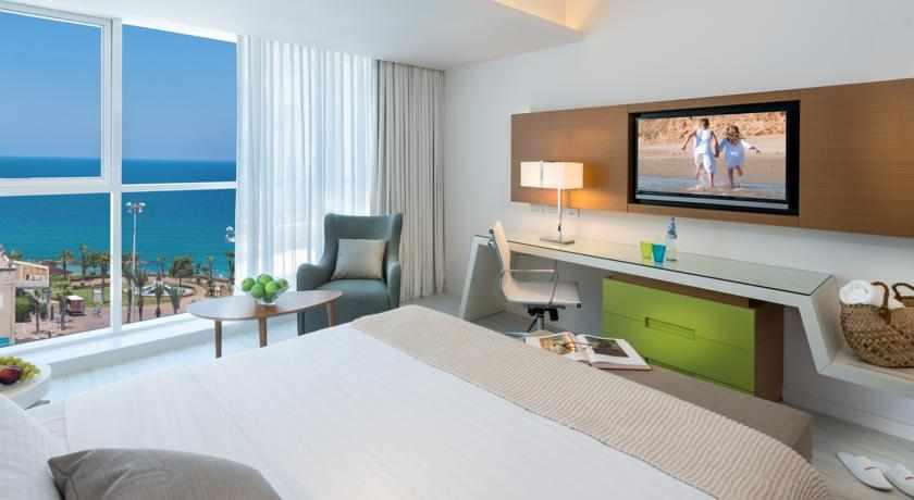 חדר נוף לים מלון לאונרדו פלאזה נתניה