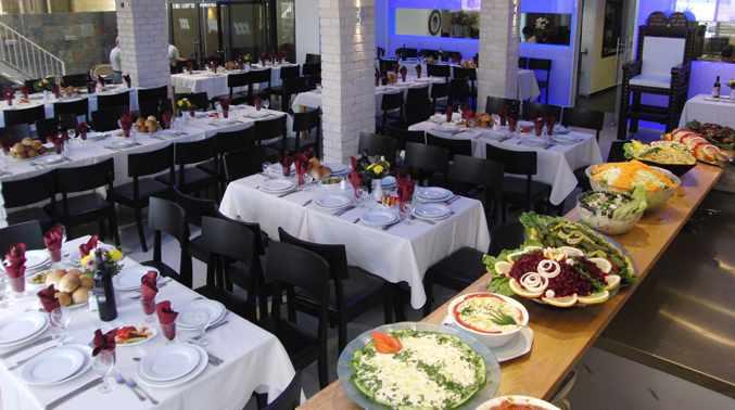 חדר אוכל מלון מרגוע בנתניה