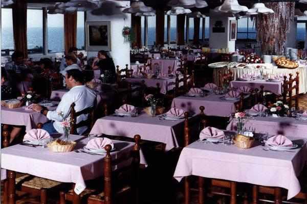 חדר אוכל מלון פארק נתניה