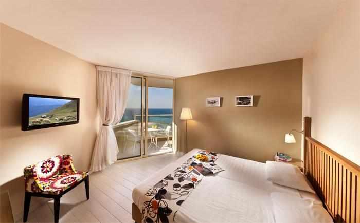 חדר נוף לים מלון פארק נתניה